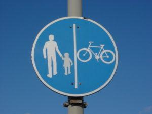 ciclo pedonale