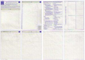 carta en certificato di circolazione