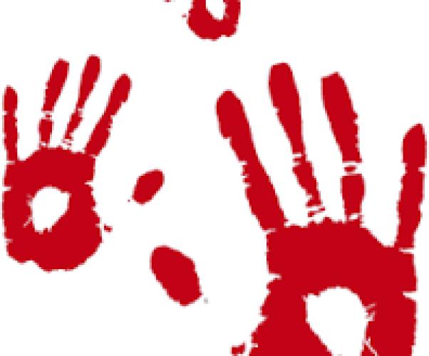 Mani rosse contro l'utilizzo dei bambini soldato