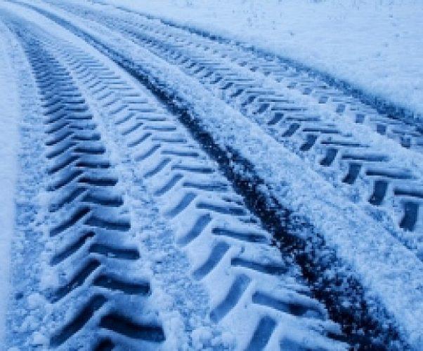 Circolare con la neve