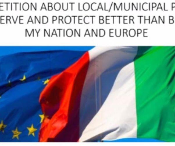 Il Parlamento Europeo richiede l'equiparazione della Polizia Locale